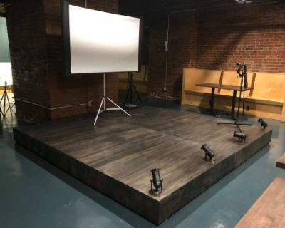 Historic subterranean meeting space in the heart of Pioneer Square with lighting and sound packages available, Seattle, WA