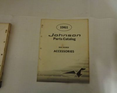 1961 Johnson Parts Catalog Accessories @@@check This Out@@@