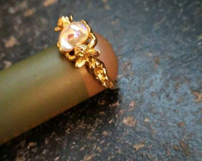 Kirk's Folly Angel ring