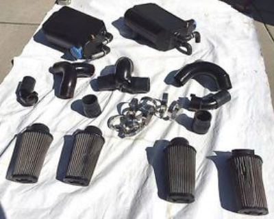 Mercedes V12 Sl65, Sl600 Speedriven Turbo Intercoolers. Huge Power Upgrade!!