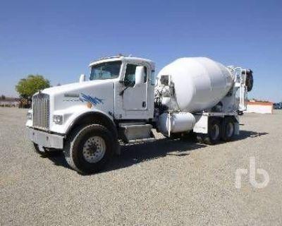 2008 KENWORTH Concrete Mixer, Pump Trucks