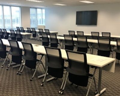 Training Room for 48 at Peachtree Offices at Alpharetta