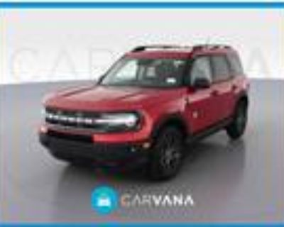 2021 Ford Bronco Red, 565 miles