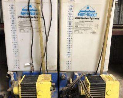 Agri-Inject Chemigation tank/pump