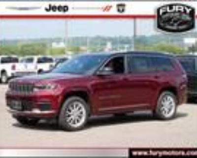 2021 Jeep grand cherokee Red, 10 miles