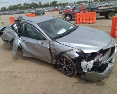 Salvage Silver 2020 Toyota Camry