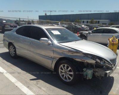 Salvage Silver 2002 Lexus Es 300