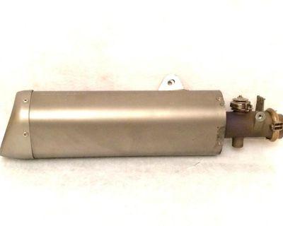08 09 10 11 12 Yamaha R6 Oem Exhaust Muffler Slip On Ex Up Delta Box Yzf-r6