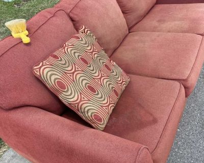 Free ! Couch outside