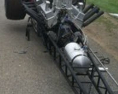 Rare late 60 s Twin Front Engine Dragster