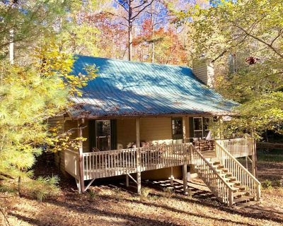 Private/secluded, multiple fire pits, fishing pond, a little taste of heaven! - Dahlonega