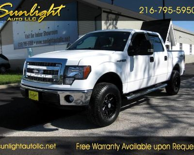 Used 2014 Ford F-150 XLT SuperCrew 5.5-ft. Bed 4WD