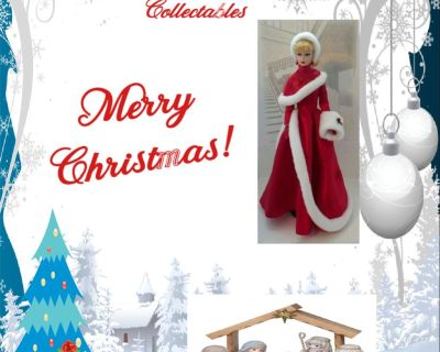 "For unique gifts ""Barbie's Vintage Plus Collectables"""
