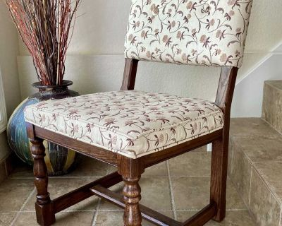 Transitional Upholstered Slipper Chair by Conant Ball