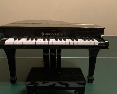 Authentic AMERICAN GIRL DOLL baby Grand Piano
