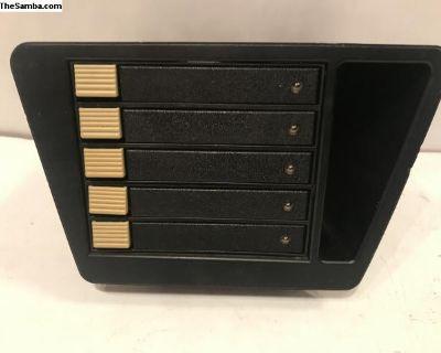 VW Golf Jetta Mk2 C Box Fischer Cassette Holder