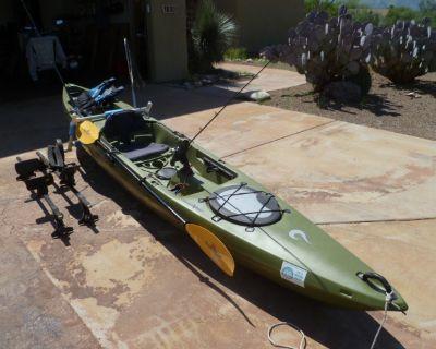 """liquid logic 14'6""""  sit on kayak"""