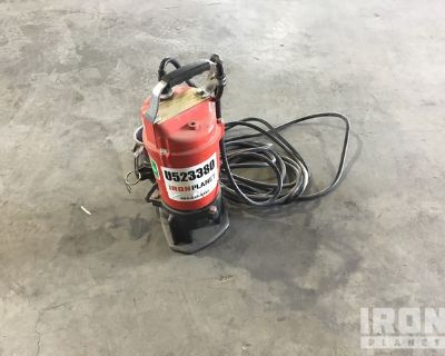 2017 (unverified) Multiquip ST-2040T Electric Submersible Water Pump