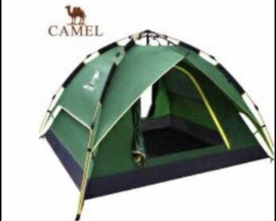 Automatic Opening Camping Tent Double Layer 4 Person Tent
