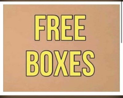 FREE BOXES ~ Great for Moving or Storage
