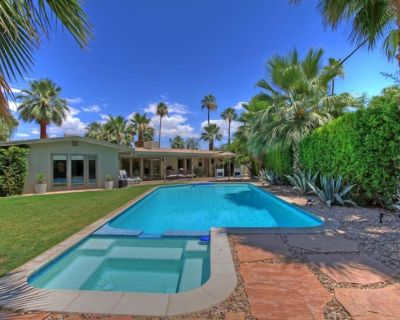 Centrally Located Mid Century Classic With Fantastic Views and Private Setting - Tahquitz River Estates