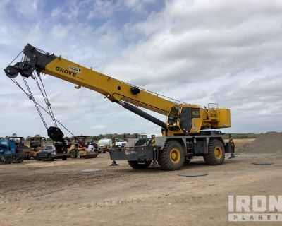 2015 Grove RT600E 50 Ton Rough Terrain Crane