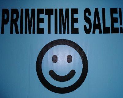50% OFF PRIMETIME Sale!