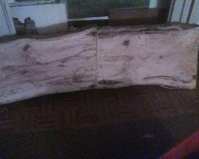 Hand made Pecan coffee table