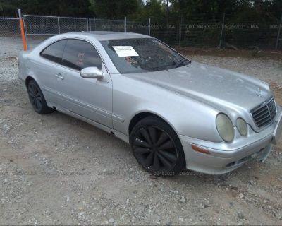 Salvage Silver 2002 Mercedes-benz Clk-class