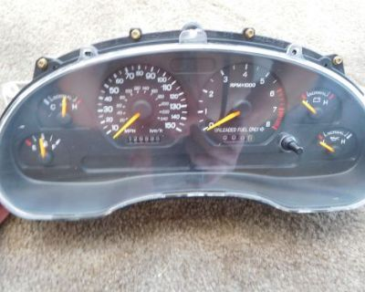 1996-98 Ford Mustang Gt Gauge Cluster 150 Mph Sn95 126888k New Gear Installed