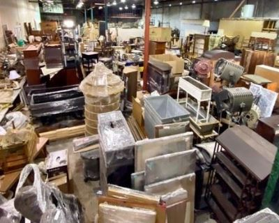 WAREHOUSE BLOWOUT! Old-Fashioned Offline Auction