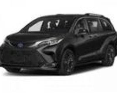 2021 Toyota Sienna Black, new