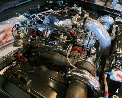 Twin Turbo SBC 406 with Twin 76's, motor combo not vehicle