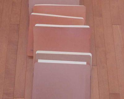 Expanding Accordion Organizer File Folders - Letter Size