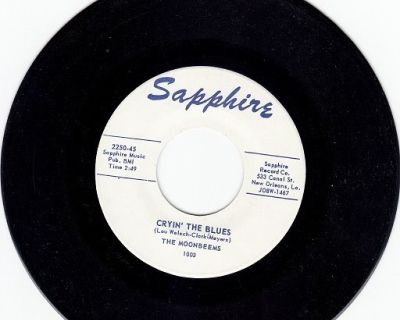 MOONBEEMS ~ Cryin The Blues*Mint-45 !