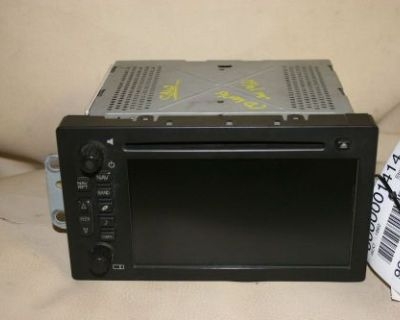 Gm Navigation Radio 15800000 Unlocked Non Lux Chevy Gmc Silverado Sierra Tahoe