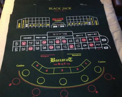 5 Casino Table Felt Layouts