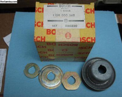 NOS Bosch 1126600348 alternator pulley/washers
