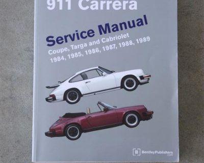 Porsche 911 Carrera Bentley Service Manual