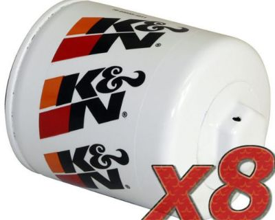 8 Pack: Oil Filter K&n Hp-1002 (8) For Auto/truck Applications