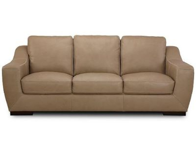 """Gansey 91"""" Leather Sofa Reg.$2,299.00 Outlet $1099.00 WOW"""