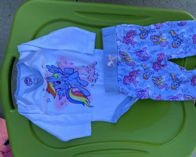 3-6M My Little Pony Outfit