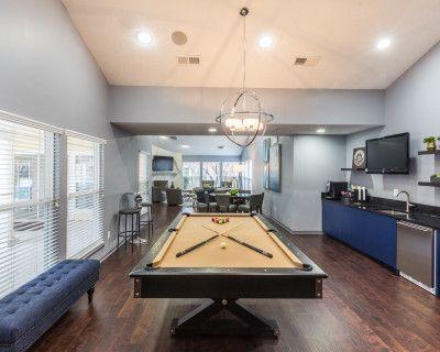 Modern Club Room with Pool Table, manassas, VA