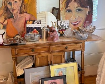 Retired Local Artist Estate/Moving Sale