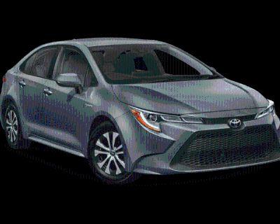 New 2022 Toyota Corolla Hybrid Hybrid LE CVT (Natl) Front Wheel Drive 4