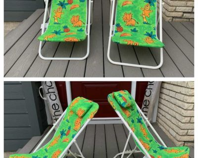 2 Multi-Position Reclining Kids Chairs