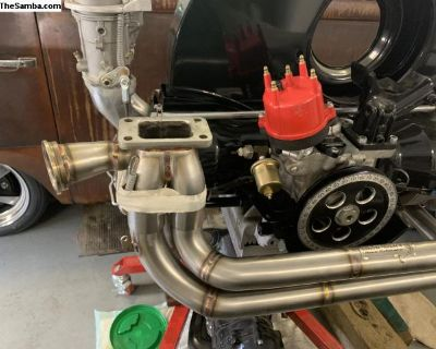 Turbo stainless steel exhaust system Simpson race