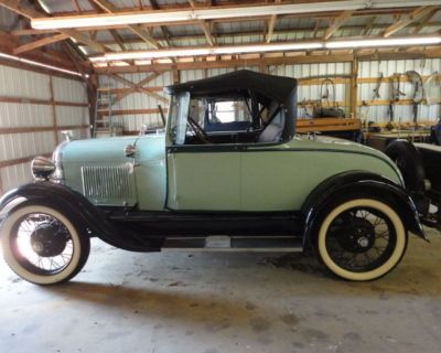 1928 Ford Model A Rumble Seat Roadster Convertible