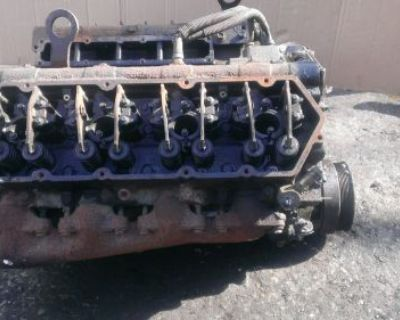 Ford 7.3 Powerstroke Long Block For Parts Or Building