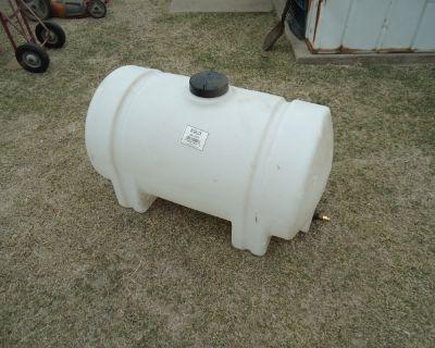 65 Gallon Poly Tank